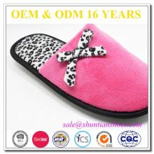 new design quiet comfortable indoor super warm closed toe oem slippers