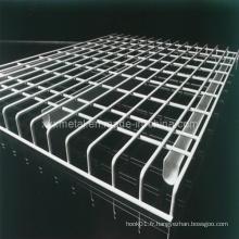Treillis à galets pour ponts en rack