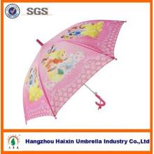 Autode-rosa aberto impressão bonito chuva moda Catoon crianças guarda-chuva