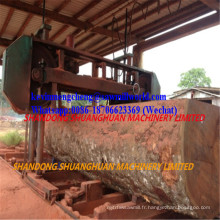Scie à ruban de 120 po pour coupe à bois dur Scie à ruban horizontale Mj3000