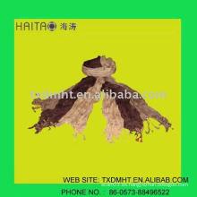 Bufanda de moda de la señora con color de la paz para francia