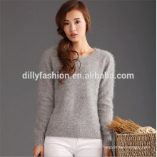 knitted jumper for women mink cashmere sweater
