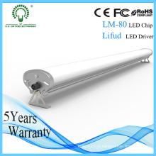 Wararnty 5 anos impermeável 1.2m Industrial LED lâmpada 50W