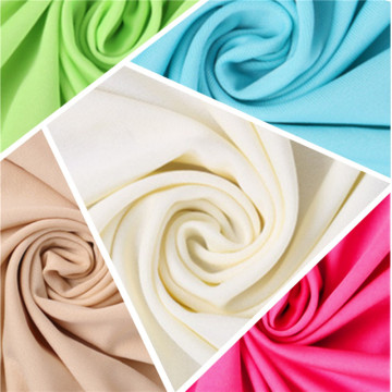 Atmungsaktive Fleece Smooth Milk Silk Stretch gebürstete Stoffe