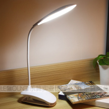 LED Klipp Tischlampe mit Akku (L52)