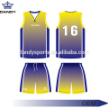 Sublimiertes Basketball-Set von Custom Ombre