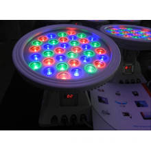 36W RGB LED Round Floodlight with DMX Controller