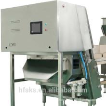 Original LED Cooling Systerm Alta Estabilidade Color Sorting Machine Para Transparência vidro orgânico