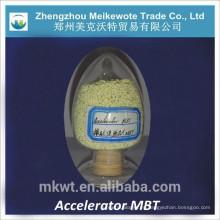 Productos químicos de caucho MBT para la fábrica de neumáticos de Indonesia