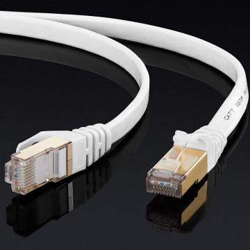 Cable LAN Ethernet de alta velocidad Gigabit plano CAT7