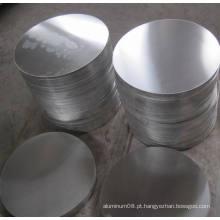 Círculo de alumínio para sinal de trânsito