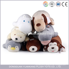 spandex super soft fabric stuffed hippo animal plush toys