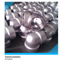 Sw Forged Fittings Socket Weld Stainless Steel Elbow