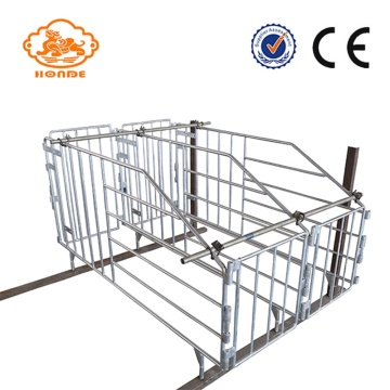 Galvanized Piggery Gestation Stall Gages for Porca Leitão