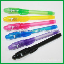 Ballpoint Pens with LED Torch on head