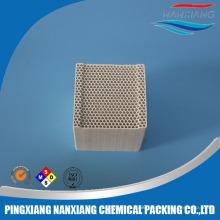 RTO ceramic honeycomb monolith for heat exchanger Alumina/Mullite/Cordierite