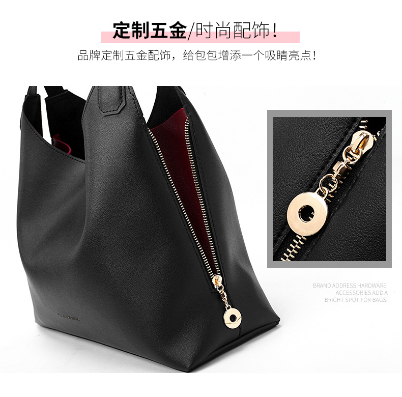 High Quality Wholesale Lady leather shoulder bag