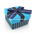 Caixa de papel do casamento do chocolate da alta qualidade com fita
