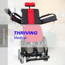 Электрическая инвалидная коляска стоя с электроприводом (THR-FP130)