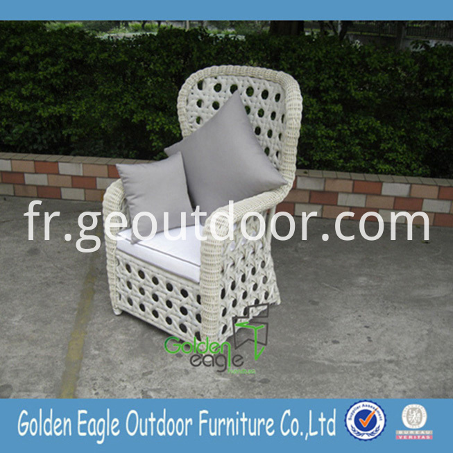 Wicker Aluminum Tube Chair Set