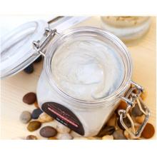 Square Pet Airtight Kosmetik Maske Jar mit Silikon Ring (PPC-60)