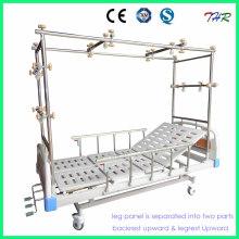 Lit de traction orthopédique manuel 3-Crank (THR-TB321)
