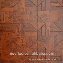 Layered solid parquet wood flooring N5 ELM PARQUET FLOOR