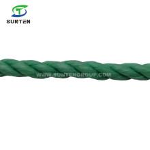 Factory Price 3 Strand Twisted/Twist PP/Polypropylene Splitfilm/Split Film Rope for Agriculture Packing