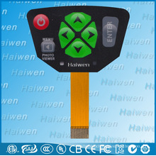 High quality membrane switch with UL certificated for camera