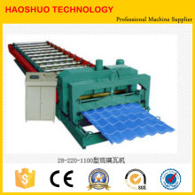 Tuile de toit formant la machine
