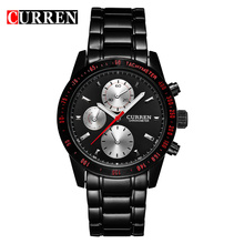 Curren Quartz Casual Men Watches Design