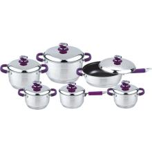 Therm soft touch 12pcs cookware set