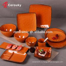 Керамическая керамическая посуда
