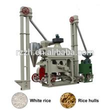 Línea de Producción de Arroz Completo de Venta Caliente Fábrica de Arroz Mini molino de arroz