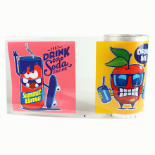 Professional factory thermal label heat transfer film printing film for drink
