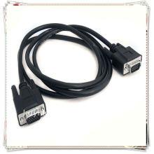 Высокое качество 1,8 м 6 футов Черный 15-контактный разъем для кабеля VGA-разъема для женщин