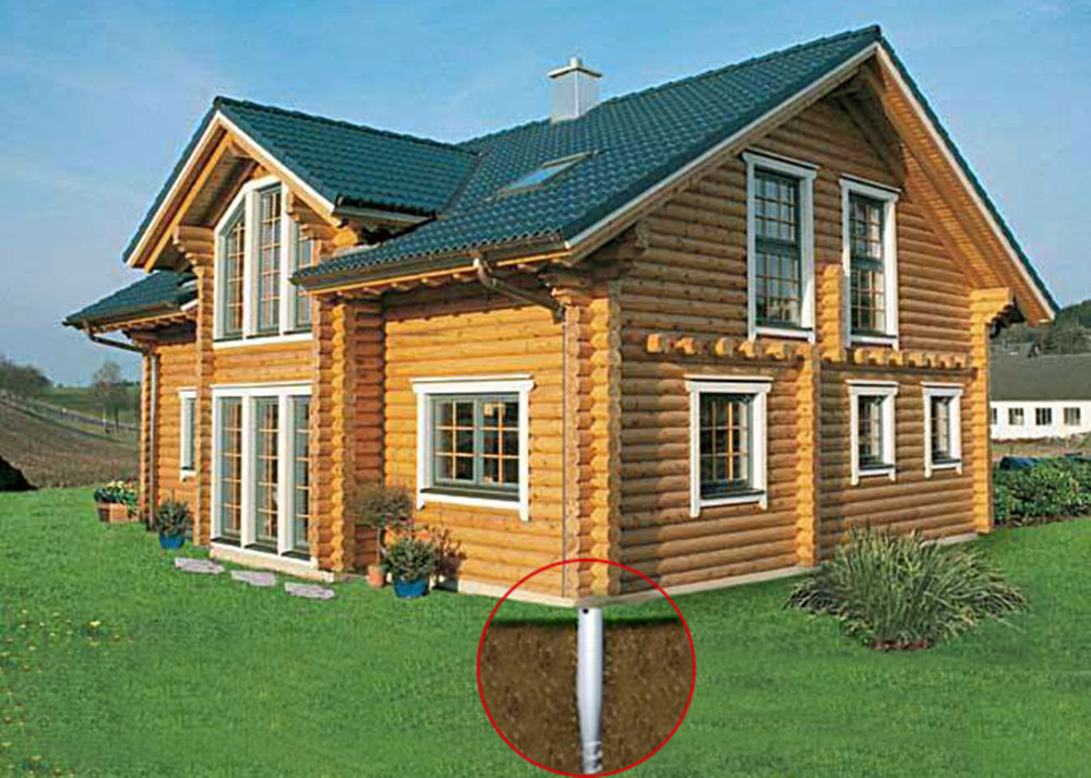 Widely used in wooden house with ground screw pile