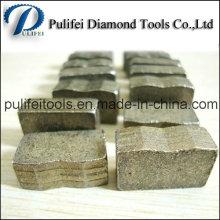 Diamond Cutting Saw Blade Segment for Granite Marble Basalt