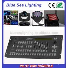 2015 hotsale piloto 2000 dmx controlador