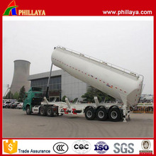 Tri-Axle 4 Compartments Stainless Steel Tipping Fuel Tank Semi Trailer