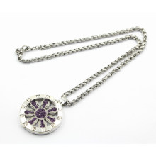 New Arrival Fashion Silver Floating Locket Necklace