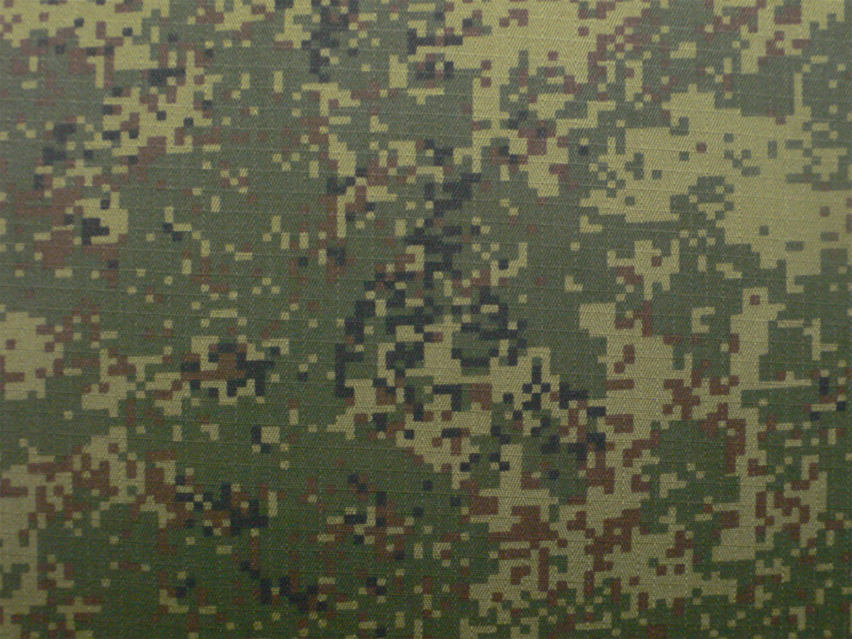 Infrared Retardant CVC Summer Camouflage Fabric for Russia