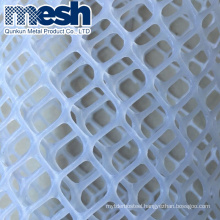 Plastic flat mesh with light weight and long life