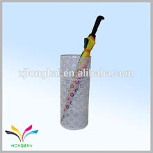 Китай завод высокое качество оптовая дешевые новый дизайн выбивая открытый дождь зонтик стенд