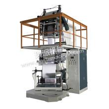 Machine gaufrante et goussante de film résistant