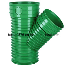 Plastic Injection Fitting Mould - Skew Tee