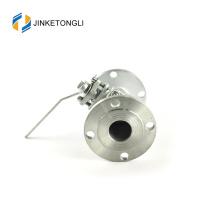 JKTLFB038 mini a216 wcb 2pc válvula forjada de aço inoxidável forjada