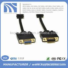 6 'SVGA VGA HD15 от мужчины до женского монитора Удлинительный кабель M / F 6 футов 6 футов