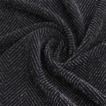 Tela de vellón jacquard de punto de alambre de nailon sin decoloración