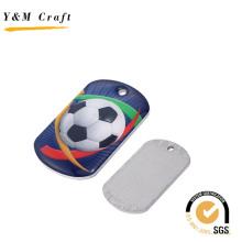 Выдвиженческий Металл Цифровой Напечатанный Значок Спорт Логотип